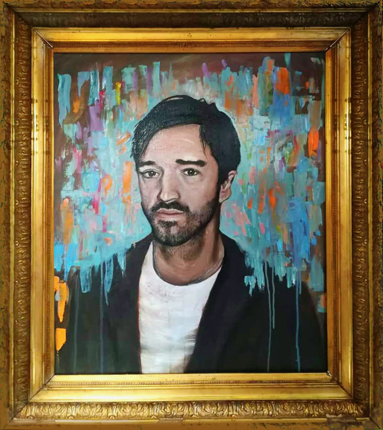 Nick - Oil Portrait on Canvas